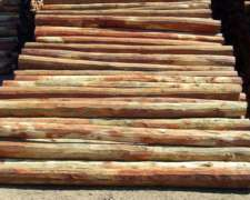 Postes de Quebracho Colorado y Varillas de Curupay