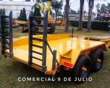 Acoplado Trailer con Balancín Grosspal 6400kg Mod. AT6000