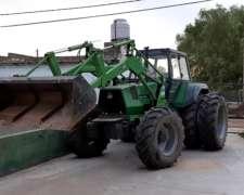 Tractor Deutz-fahr AX 4.170 con Pala
