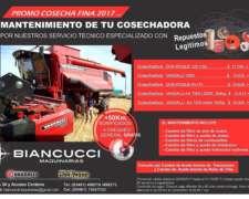 Promo Cosecha 2018 (servicio Mecanico)