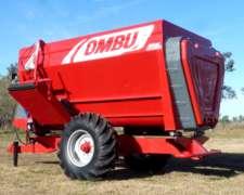 Mixer Ombu Nuevo 10m3. Disponible