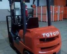 Vendo Autoelevador Toyota Serie Z, Diesel, Nuevo