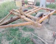 Cincel Agrometal de 9 Arcos Trocha Angosta