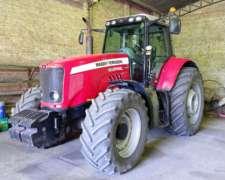 Tractor MF 6495 Francés
