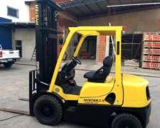 Vendo Autoelevador Hyster 2.5 Tn