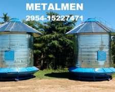 Silos Comederos 7 TN Metalmen Colonia Menonita