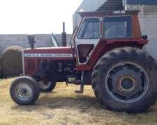 Tractor Massey Ferguson 1195 S-2 Cabina ST Salida Hidraulic.