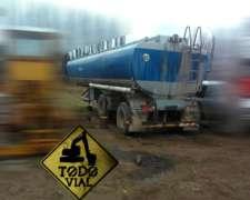 Cisterna De Riego 34.000lt Listo P/trabajar M/b Todo Vial