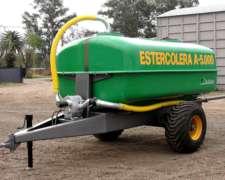 Estercoleras Argenplast 5.000 Litros 1 Eje