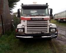 Camión Scania 113-360 C/semi Jaula