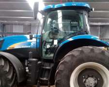 Tractor New Holland 6080 Ingles, 2016 Chipeado a 240 HP