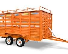 Acoplado Para Transporte De Hacienda Impagro 5019