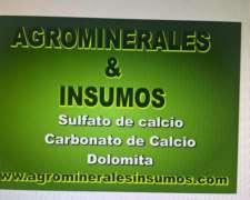 Dolomitas -- Yesos y Carbonatos