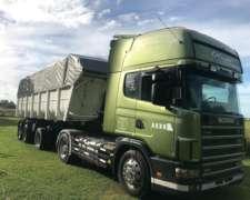 Scania 420 con Batea Cormetal