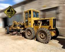 Motoniveladora Caterpillar 120b 3306 C/desplazable Todo Vial