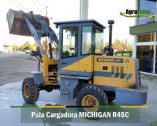 Pala Cargadora Michigan R45c con Brazo Largo