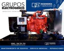 Grupos Electrógenos Alquiler, Venta y Reparacion