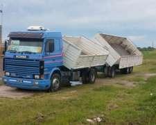 Scania 360 Frontal Con Bi-vuelco