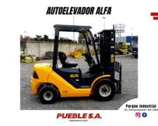 Autoelevador / Zamping Alfa - 2,5 TON - 4,8 Metros