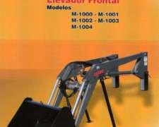Pala Frontal M-1001 Ceibo. Nuevo