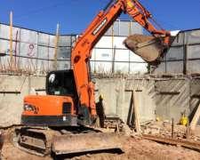 Excavadora Doosan Dx80r (8tn) - Impecable