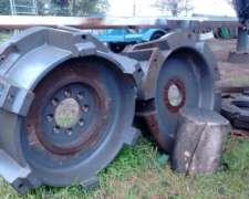Masas Ruedas Traseras para Duales Tractor Massey F. 1499 L