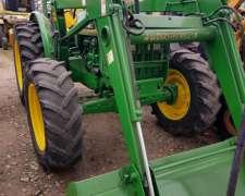 Tractor John Deere 5400 Con Pala Frontal John Deere