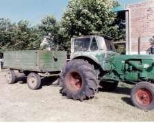 Tractor Deutz A55 con Hidráulico y Cabina