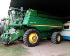 John Deere 9670 STS año 2011 - 5200/4800 Hs - Impecable