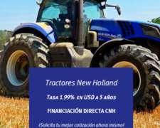 Tractores Nuevos New Holland