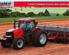 Tractores Case Puma 190, 205 y 225