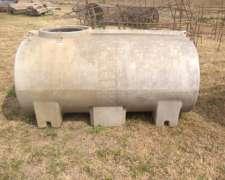 Tanque PVC 2000lts para Acoplado