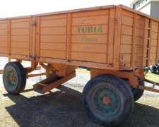Acoplado Cerealero Usado para 8 TN