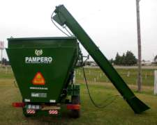 Mixer Horizontal Pampero, Con Chimango Forrajero.