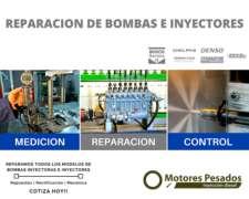 Reparacion de Bombas Inyectora - Servicio Pesado
