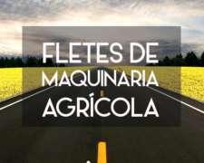 Transporte De Maquinarías Agricolas - Serviagro