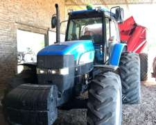 New Holland 7040. 2008. 180 HP 6500 HS. Rodado Paton A/A