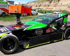 Auto de Carreras TC Zonal Motor Ford Falcon.-