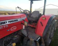 Tractor Massey 4275.con Tres Puntos.rodado Fino