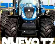 New Holland T7 Nueva Línea. Disponible para Entrega Inmediat
