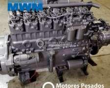 Motor MWM 229 6 Cil. - Reparado con Garantía