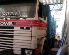 Camión Scania 113h año 1993 con Carrocería Paletera