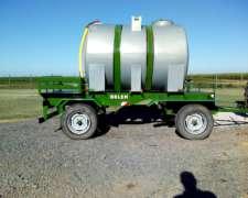 Chasis con Tanque de 3.000 Lts