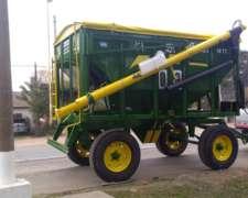 Tolva Semillera /fertilizante Santo Grial de 10/14 Toneladas