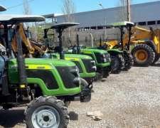Tractor 30 HP 4X4 Doble Tracción con 3 Puntos Tipo