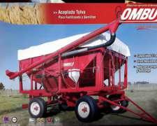 Acoplado Tolva P/fertilizante y Semillas Ombu
