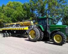 Tractor 7810/ 9000 año 2004 / Sembradora Pla 16-52 Canje