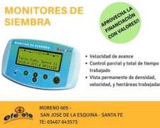 Monitor De Siembra Con Instalación Y Viáticos 25 Lineas