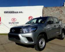 Hilux D/c 4x4 2.4 Dx Tdi 0km Año 2019, Disponible.