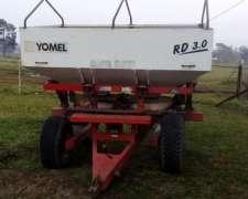 Fertilizadora Yomel 3.0 de Arrastre